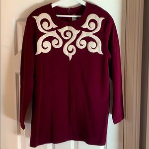 Outlander Collection Wool Sweater Top
